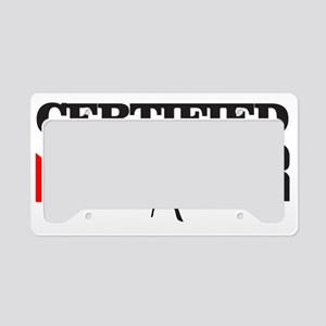 Certified Diver License Plate Holder