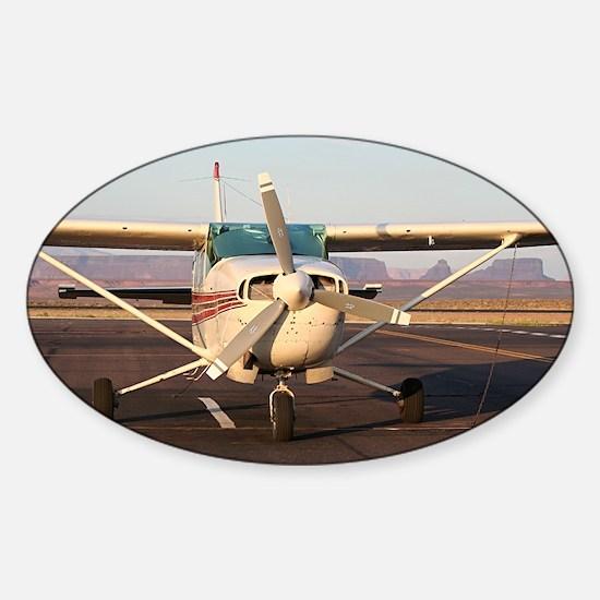 Aircraft at Page, Arizona, USA, 2 Sticker (Oval)