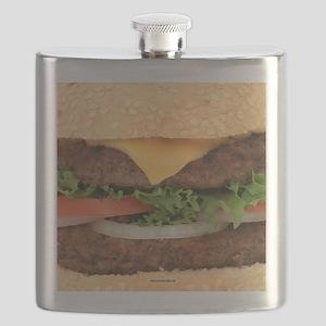 Funny Hamburger Flask