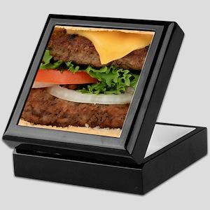Big Juicy Hamburger Keepsake Box