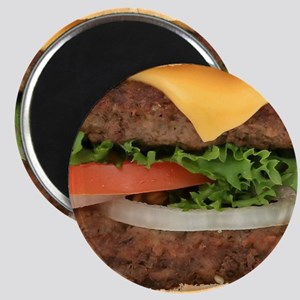 Big Juicy Hamburger Magnet