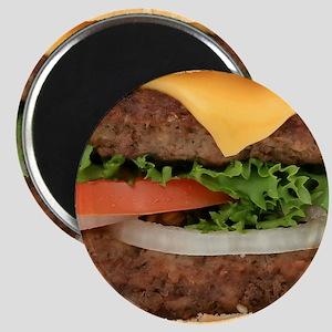 Big Juicy Hamburger Magnet