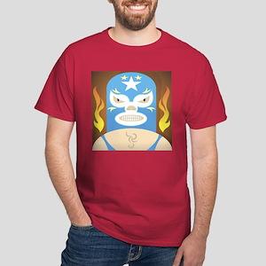 Luche Libre The Flame Dark T-Shirt