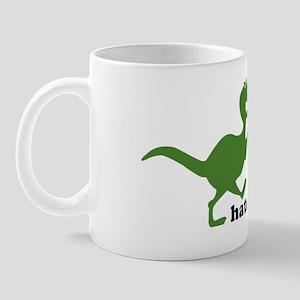 T-rex hates high fives Mug