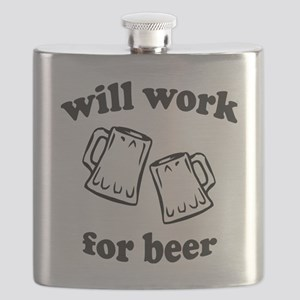 Will work for beer Flask