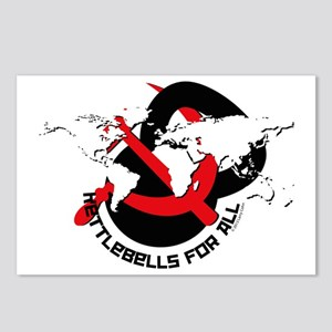 Kettlebells for The World Postcards (Package of 8)