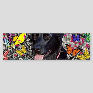 Abby Butt 36x11 Wall Peel-7700wx2 Sticker (Bumper)