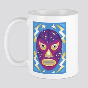 Luche Libre Star Man Mug