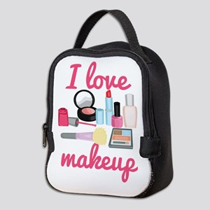 I love makeup Neoprene Lunch Bag