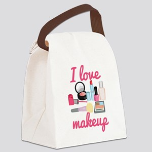 I love makeup Canvas Lunch Bag