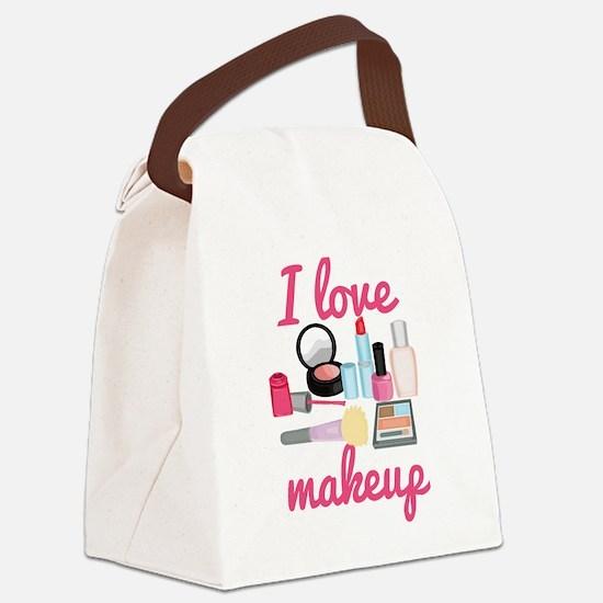 I love makeup Canvas Lunch Bag