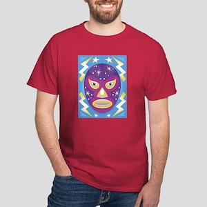 Luche Libre Star Man Dark T-Shirt