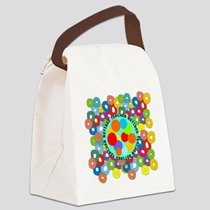 RT ABSTRACT PILLOW Canvas Lunch Bag