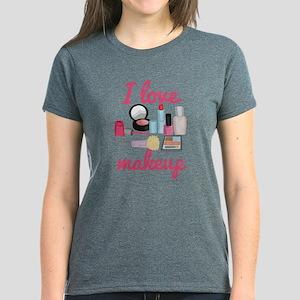 I love makeup Women's Dark T-Shirt