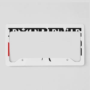 Extreme Diver 3 License Plate Holder