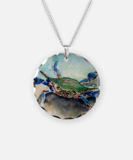 The Blue Crab Necklace