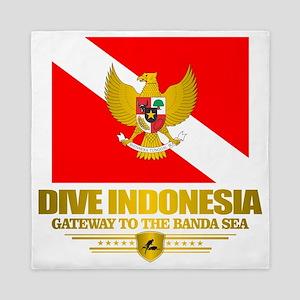 Dive Indonesia Queen Duvet