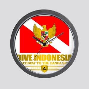 Dive Indonesia Wall Clock