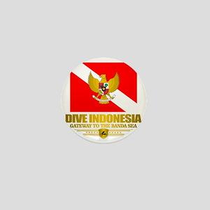 Dive Indonesia Mini Button