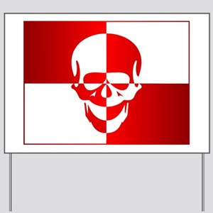 Dive Skull (logo) Yard Sign