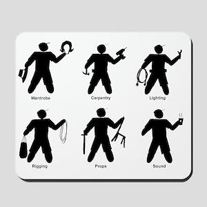 Universal Theatre Identifiers Mousepad