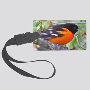 Northern Oriole Large Luggage Tag