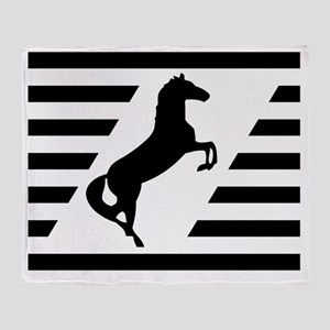 Norfolk and Southern thoroughbred ho Throw Blanket