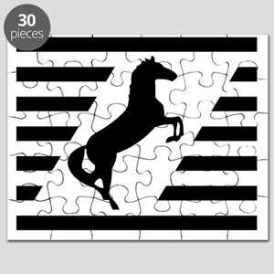 Norfolk and Southern thoroughbred horse rai Puzzle