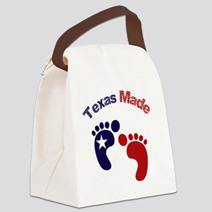 Texas Made Canvas Lunch Bag