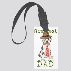 great dane dad1 Large Luggage Tag