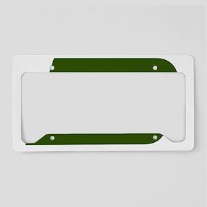 Burlington Northern railroad License Plate Holder
