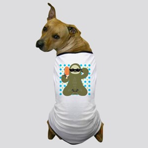 Ice Cold Slothsicle Dog T-Shirt