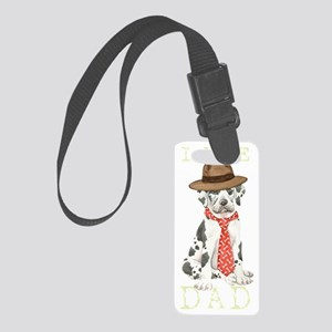 great dane dadT Small Luggage Tag