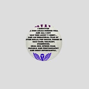 Justice for Travis Alexander Mini Button