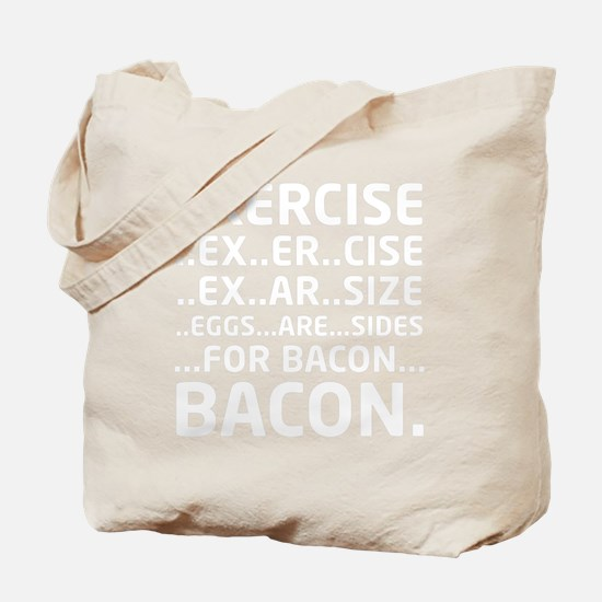Bacon Logical Deduction Tote Bag