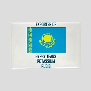 Borat-Exports Rectangle Magnet