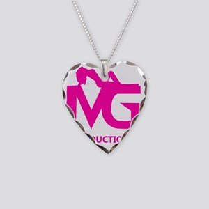 Mean Girls Productions, LLC L Necklace Heart Charm