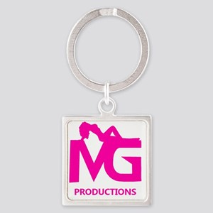 Mean Girls Productions, LLC Logo i Square Keychain