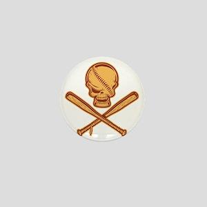 baseball-pir-513-T Mini Button