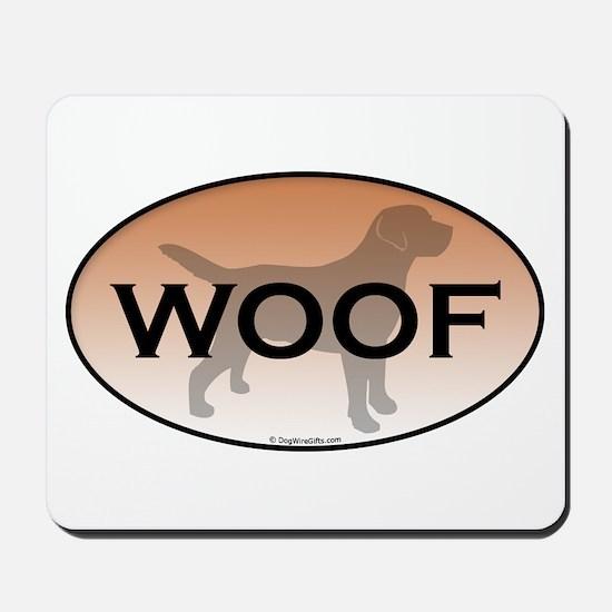 Labrador Woof Mousepad