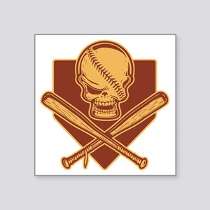 "baseball-pir-513-T2 Square Sticker 3"" x 3"""