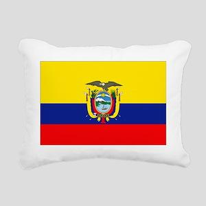 Ecuador Rectangular Canvas Pillow
