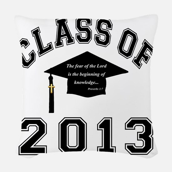 Class Of 2013 Knowledge Woven Throw Pillow