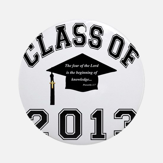 Class Of 2013 Knowledge Round Ornament