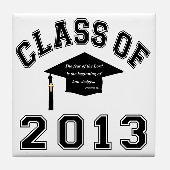 Class Of 2013 Knowledge Tile Coaster