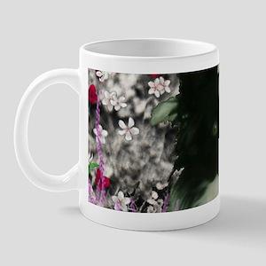 Matisse the Papillon in Flowers Mug