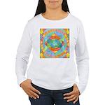 Sacred Geometry Watercolor Women's Long Sleeve T-S