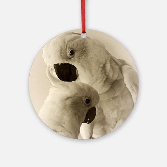 Cockatoo Pals Round Ornament
