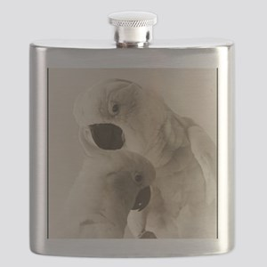 Cockatoo Pals Flask