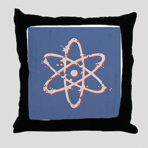 atom-dist-BUT Throw Pillow